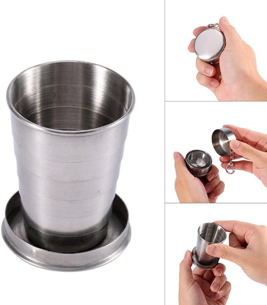 不銹鋼折疊杯