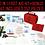 Thumbnail: FDA認證 Stardello Horizons急救箱 包含一個迷你箱 First Aid Kit (Mini Kit Included)-152 Pieces