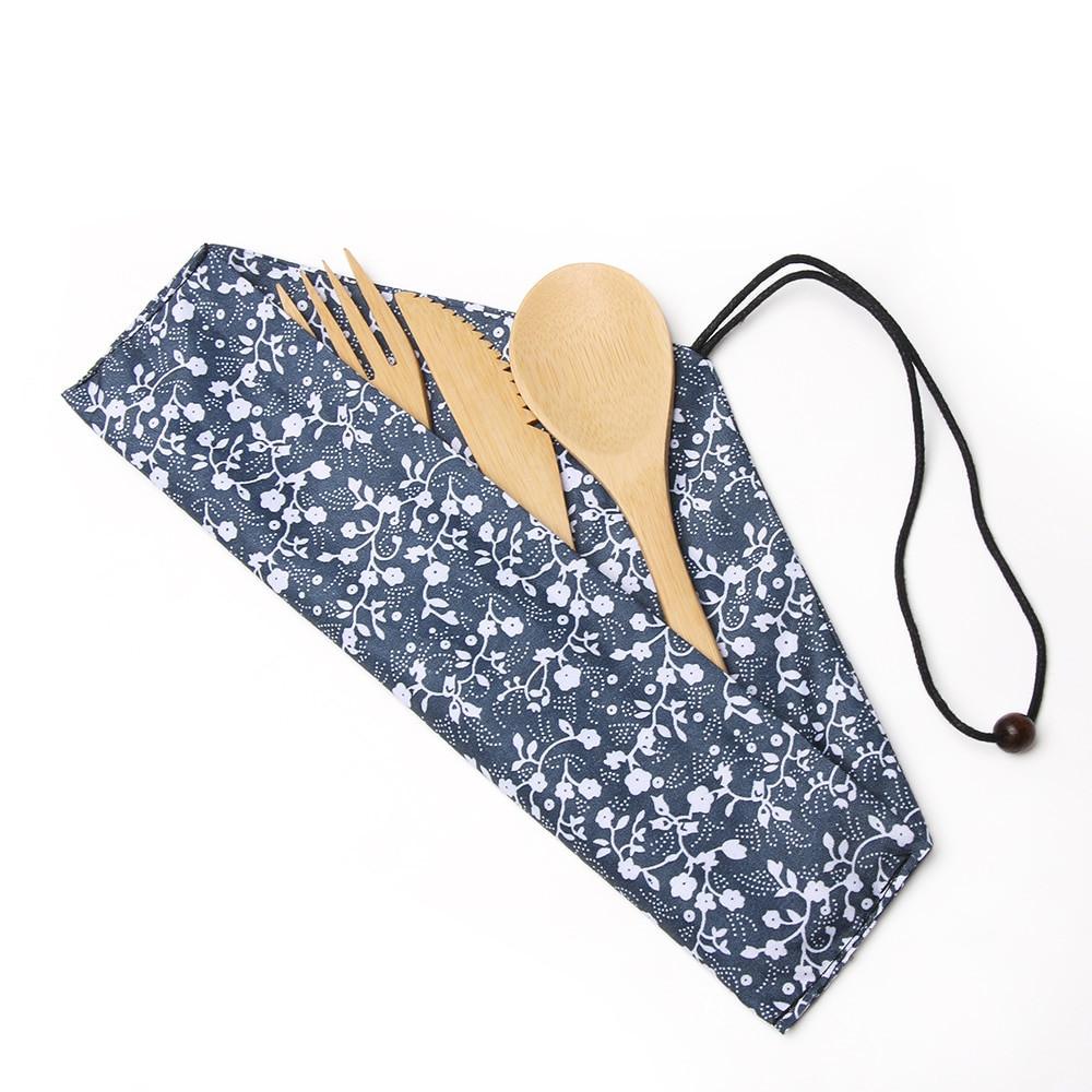 日式竹木西餐套裝