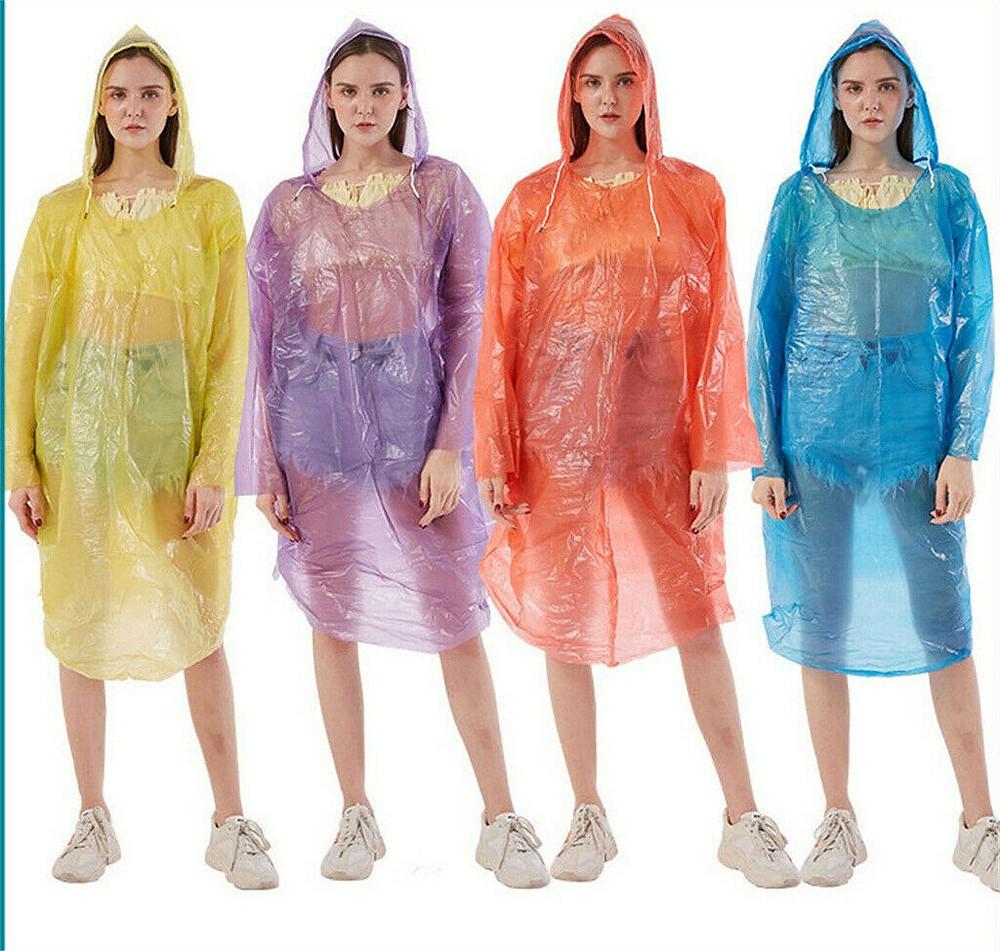一次性頭套雨衣 成人應急防水防雨 遠足野營