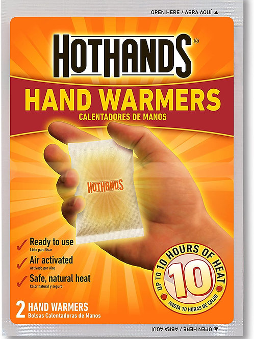 HotHands 長達10小時 發熱暖手包-  (10pc/5pair) Hand Warmers - Up to 10 Hours of Heat -