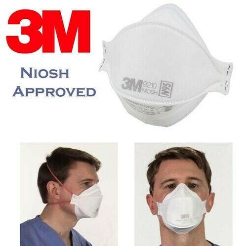 3M N95 9210 PARTICULATE RESPIRATOR Masks (5pcs) 高強力 高效 防病毒口罩 5個原廠獨立包裝