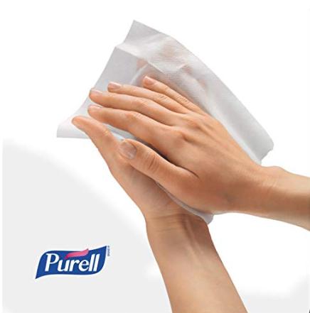 Purell® 洗手濕巾 美國醫院首選 酒精配方