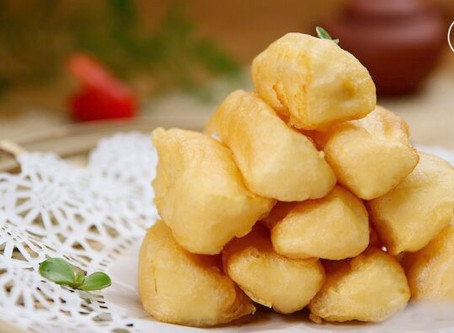 Melt in Your Mouth Fried Milk by Chinese Masterchef