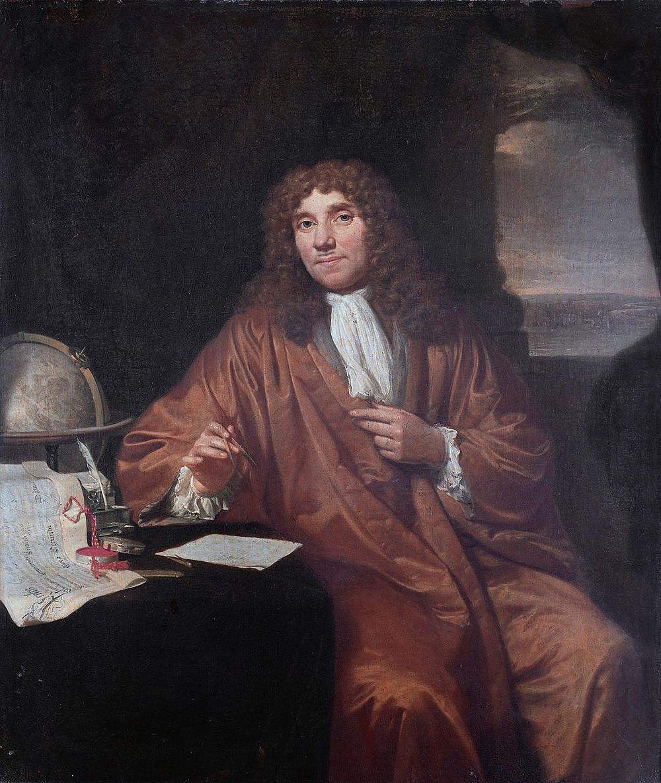 安東尼·范·雷文霍克 (1632–1723)畫像,Jan Verkolje作品