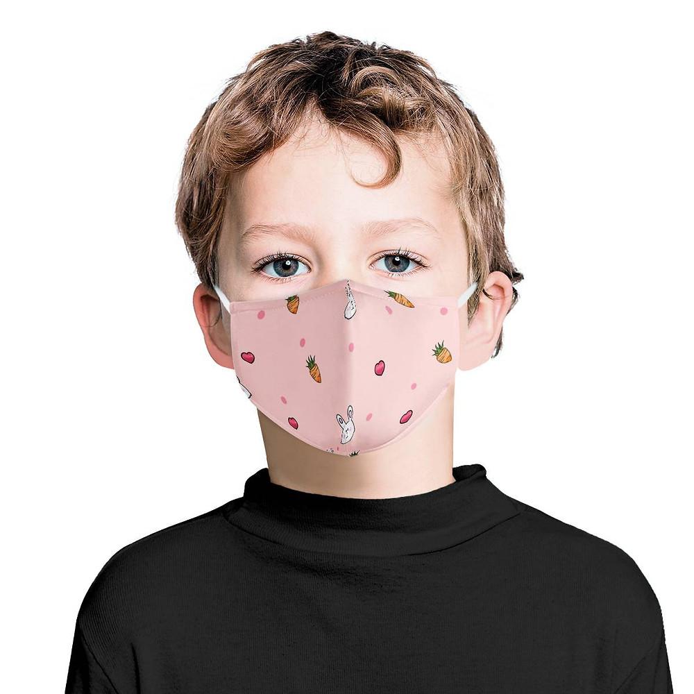 3層透氣兒童口罩 有鼻夾