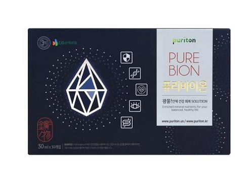 30袋 抗癌聖品 Puriton神仙水, 有效恢復弱化的免疫系統, 抑制癌細胞的生長 藥用礦物質 (30/盒) 美國FDA推薦
