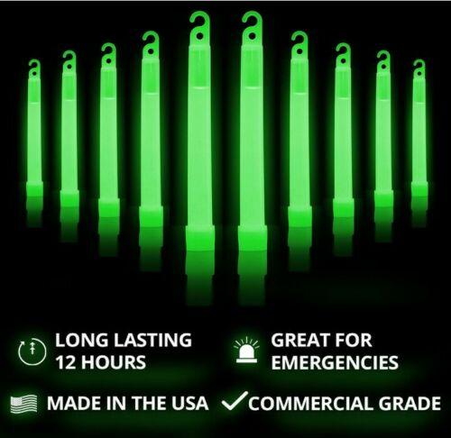 6英寸12小時應急熒光棒 美國製造