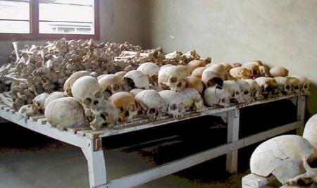 遇難者的頭骨顯示生前遭受砍殺和暴力
