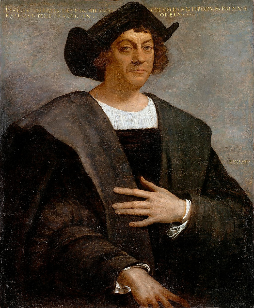 克里斯多福·哥倫布 - 皮永博於1519年所作的哥倫布生後肖像