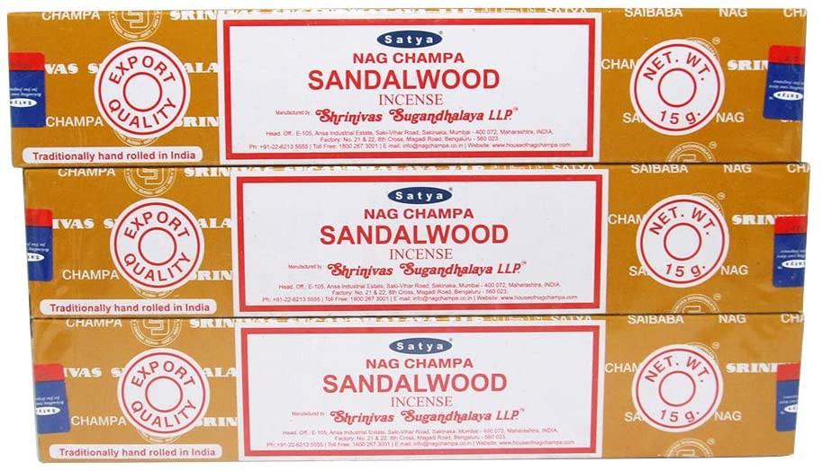 特級印度檀木供香 3盒