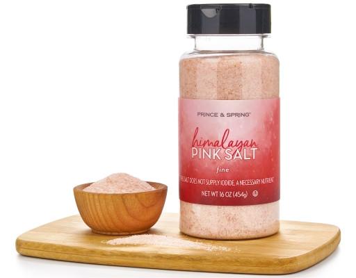 100%天然最純淨 喜馬拉雅粉紅鹽 Himalayan Salt - Coarse or Fine 富含84種以上的天然礦物質成分和微量元素