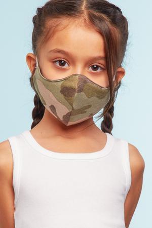 迷彩兒童口罩 Camo Kids Mask