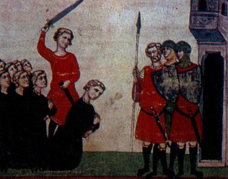 康拉丁被處決