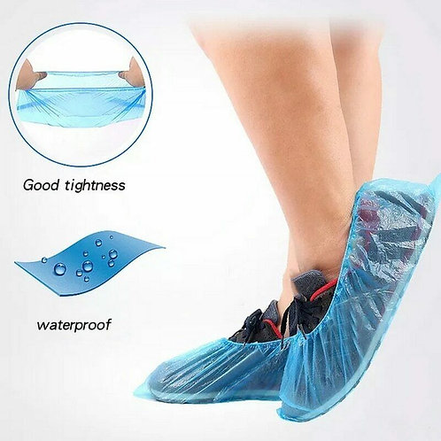 5-Pair Disposable Shoe Covers Hygienic Boot Cover Indoor Carpet