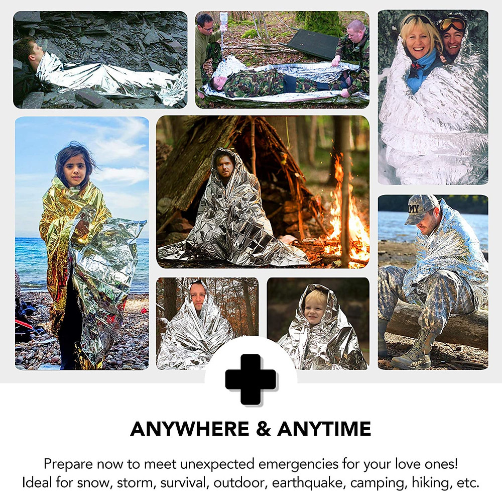 戶外多功能急救毯 保持體溫(90%) 獨立包裝 CE 認證