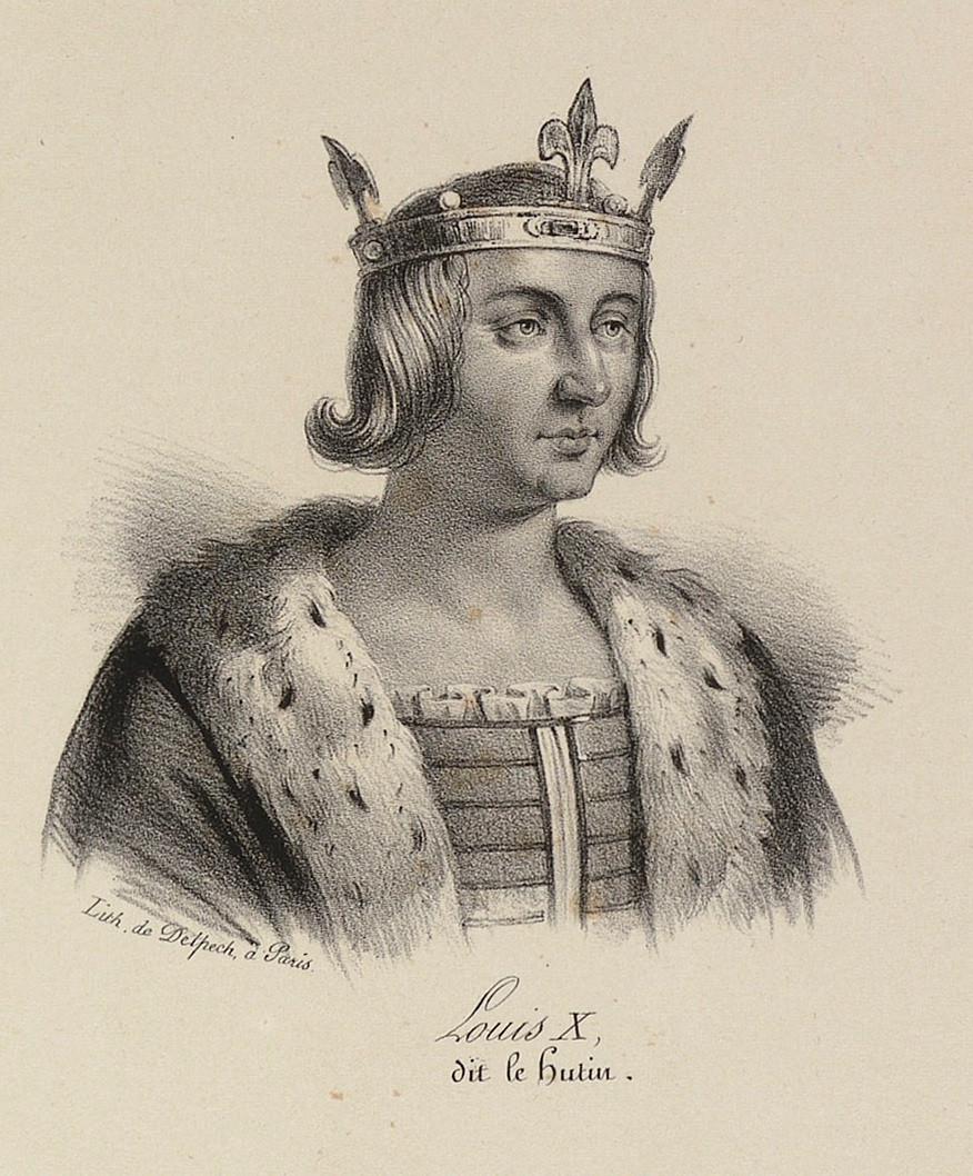 納瓦拉國王(稱路易一世)
