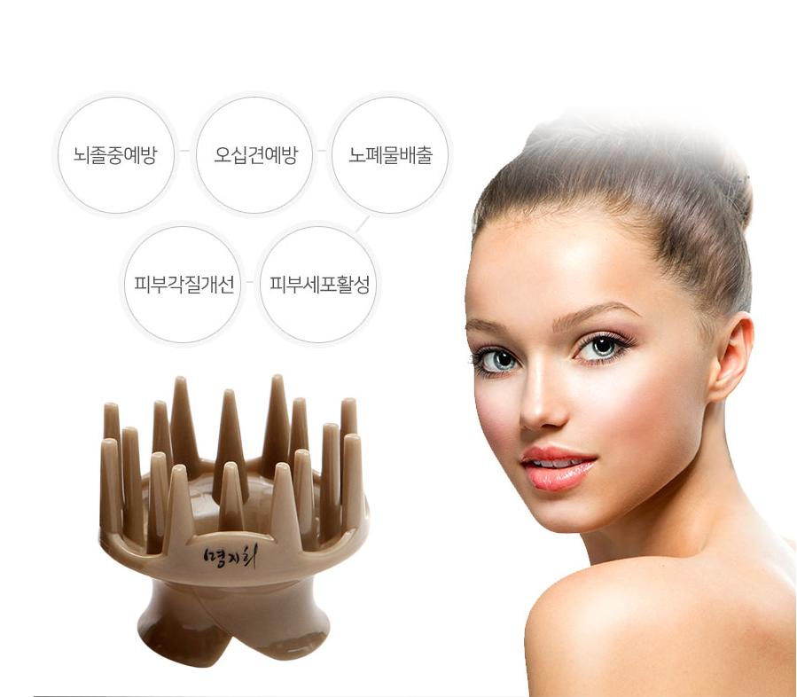 韓國原裝專利 Dr. Comb 專業納米銀刮痧梳