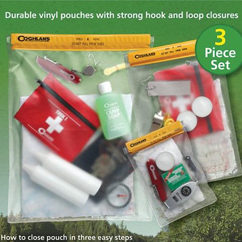 3件套多用途防水袋 Coghlans 9710 3-Piece Waterproof Pouch Set