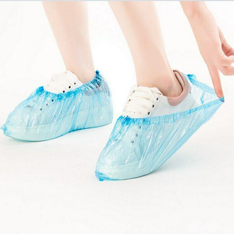 一次性鞋套 Disposable Shoe Covers Hygienic Boot Cover Indoor Carpet