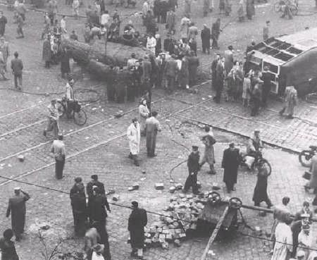 匈牙利事件爆發