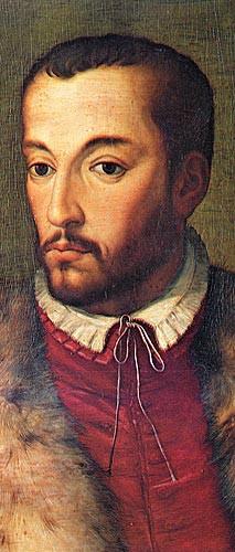 由布龍齊諾繪製的弗朗切斯科一世肖像畫