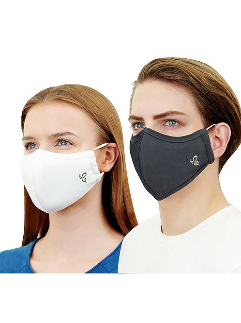 4-Layer Medical Face Mask, Reusable Anti-Bacterial (99.9%), Certified by CE