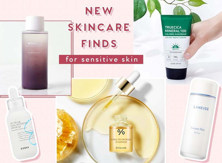 New Skincare Finds for Sensitive Skin