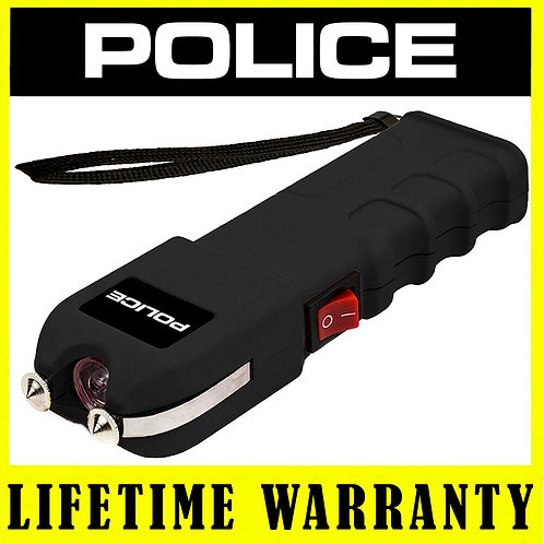 強力防身電擊槍 泰瑟槍 POLICE 928 Heavy Duty Stun Gun, Rechargeable With LED Flashlight