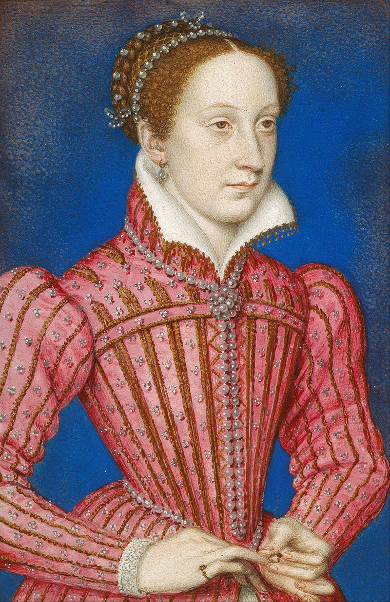 瑪麗一世,弗朗索瓦·克盧埃約在1558年–1560年間繪製