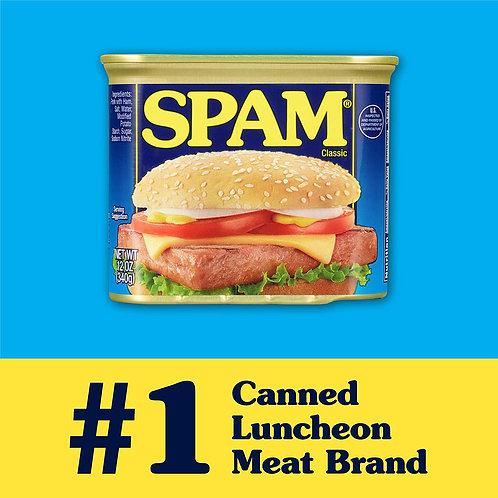 斯帕姆午餐肉 最受歡迎的經典款 SPAM Classic Canned Luncheon Meat 12 oz