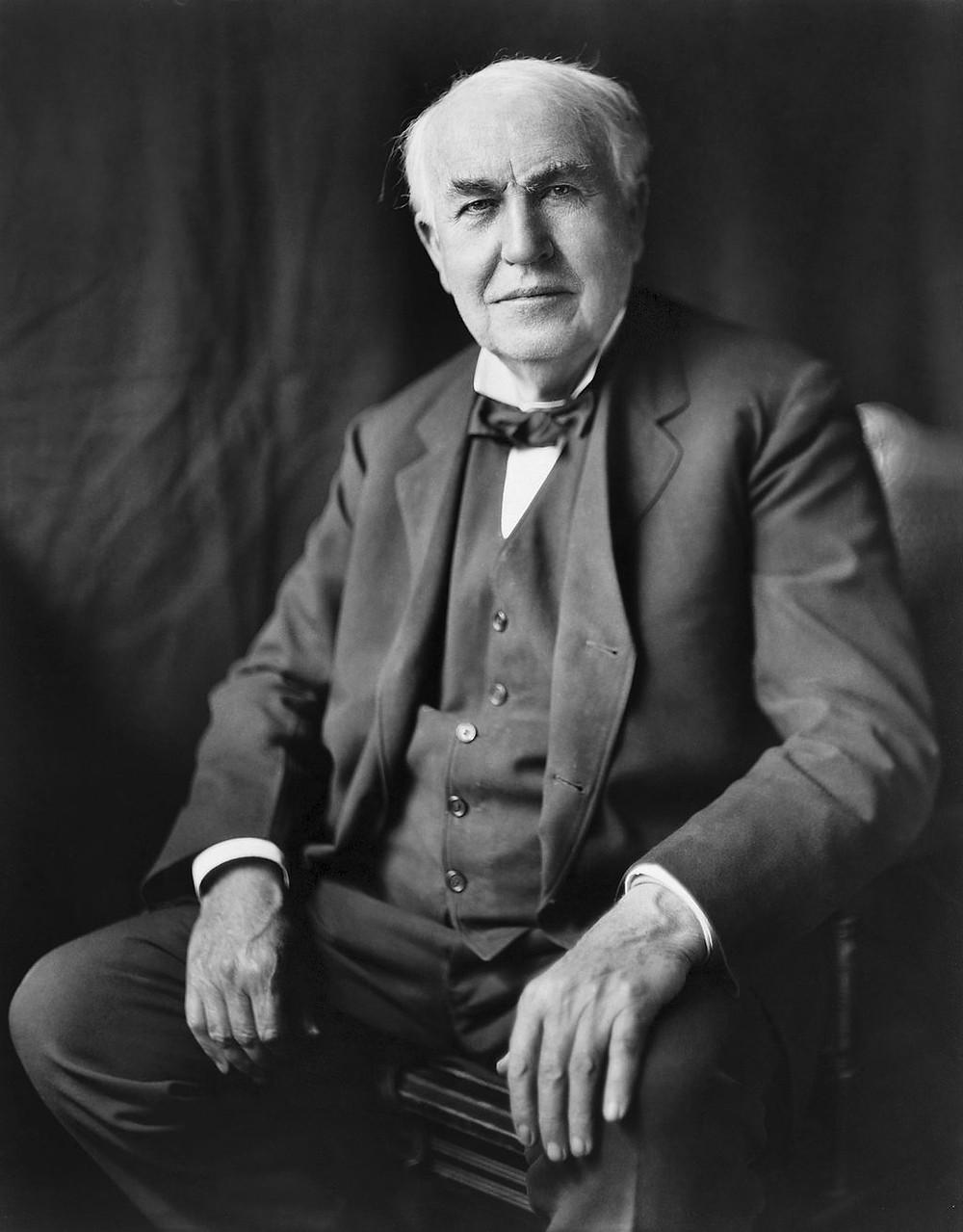 愛迪生的照片(約1922年)