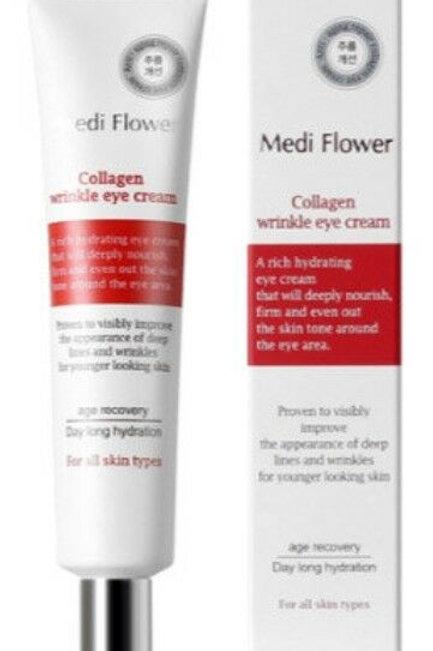 韓國防皺眼霜 MediFlower - Collagen Wrinkle Eye cream 40ml