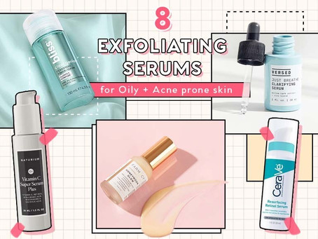 7 Exfoliating Serums for Oily & Acne-Prone Skin