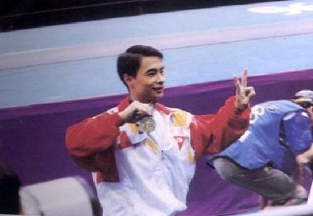 李小雙在日本鯖江的世界體操錦標賽中