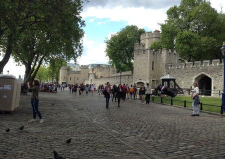 The Tower of London 倫敦塔 外_Kamlingtang.JP
