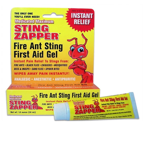 Fire Ant Bite Treatment Sting Zapper Gel Bee Bugs Mosquito