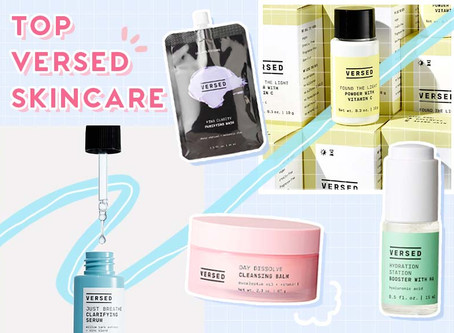 Products Review: Top VERSED Skincare Products to buy now