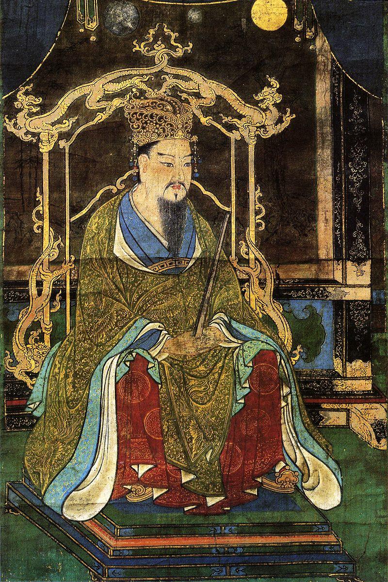 桓武天皇像(延曆寺藏)
