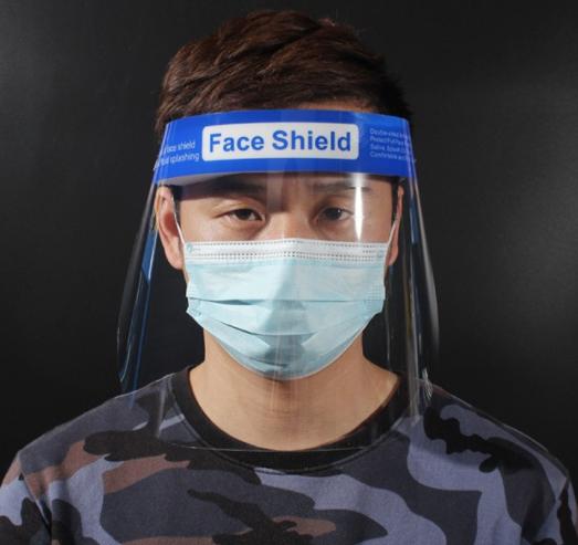防護面罩- 防濺防塵 高清透明 PET防霧 防風沙 防油煙