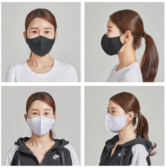韓國原裝 專利口罩, 除臭 抗病毒 抗菌 (>99%)