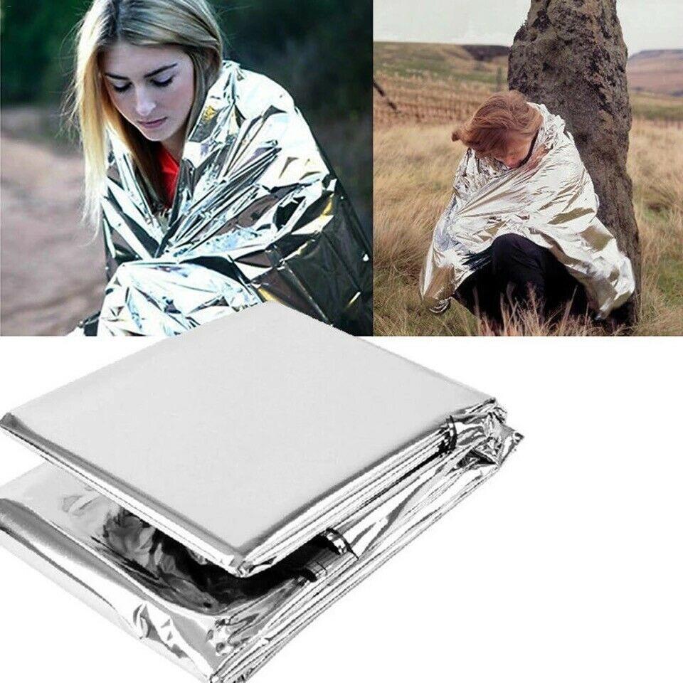 4個戶外多功能急救毯 保持體溫(90%) 獨立包裝