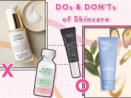 4 Skin Care Dos and Don'ts that Might Just Surprise You