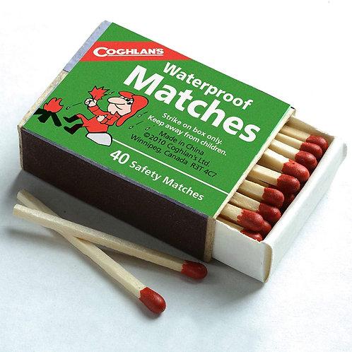 Coghlan 安全防水火柴  Waterproof Matches 40/盒