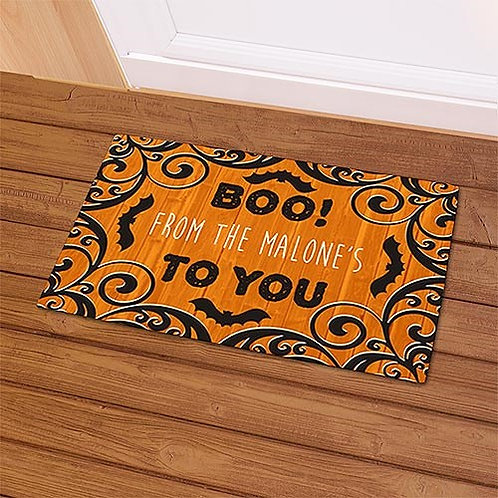 Boo To You Doormat