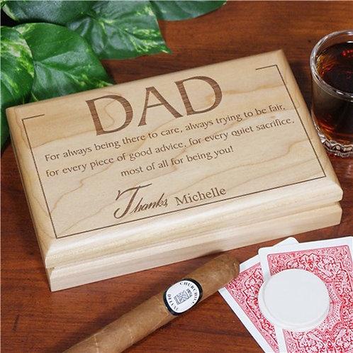 Thanks Dad Valet Box