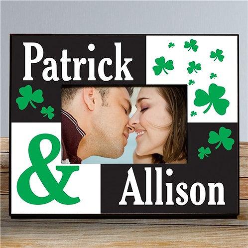 Personalized Irish Couple Printed Frame