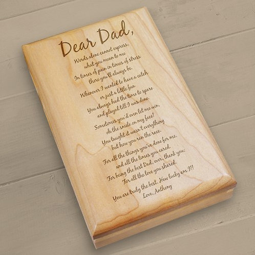 Valet Box for Dad