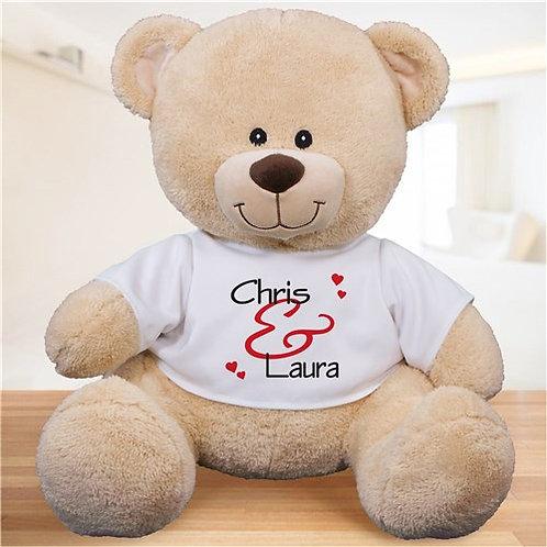 Personalized Valentine's Bear