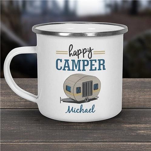 Happy Camper Personalized Camper Mug